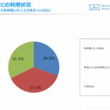 海外EC、10代のEC利用者半数以上が利用。ネット記事やInstagramがきっかけ